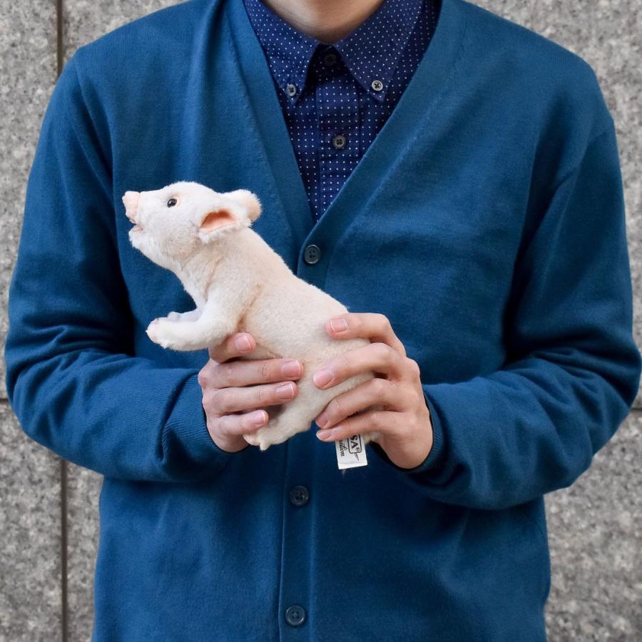 HANSA ハンサ ブタ 6455 リアル 動物 ぬいぐるみ プレゼント ギフト 母の日 父の日|dearbear|07