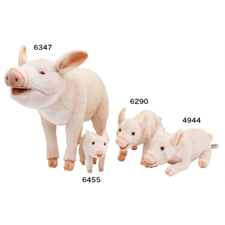 HANSA ハンサ ブタ 6455 リアル 動物 ぬいぐるみ プレゼント ギフト 母の日 父の日|dearbear|08