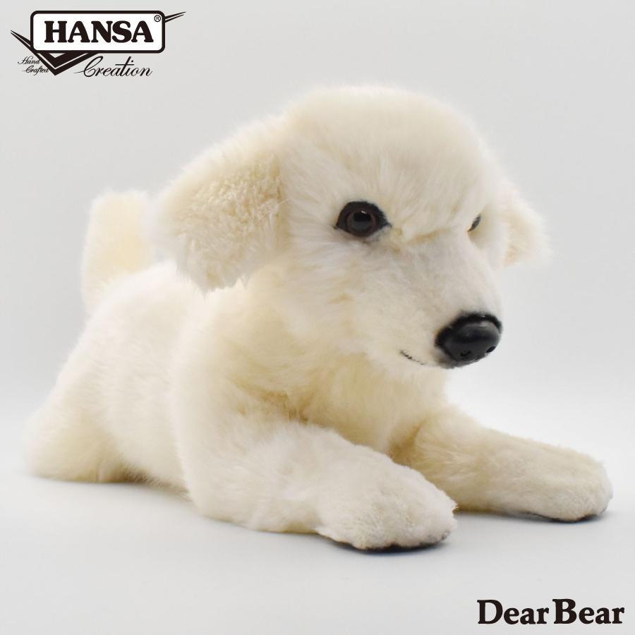 HANSA ハンサ 子いぬ 犬 6581 リアル 動物 ぬいぐるみ プレゼント ギフト 母の日 父の日|dearbear