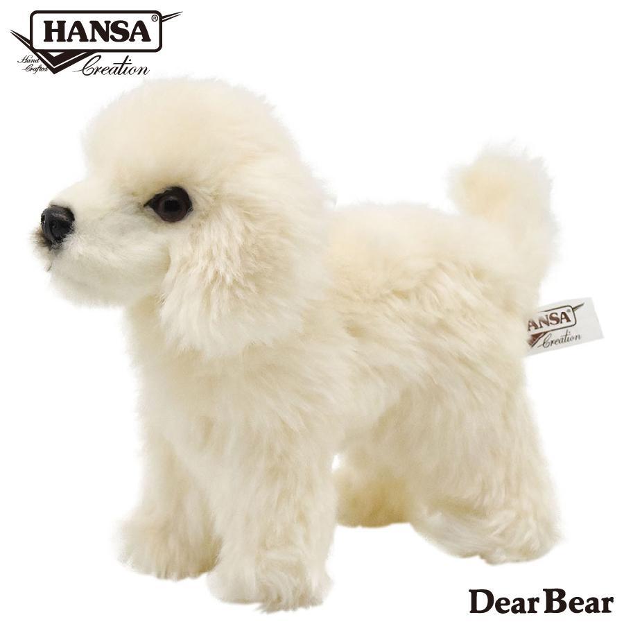 HANSA ハンサ 子いぬ 犬 6583 リアル 動物 ぬいぐるみ プレゼント ギフト 母の日 父の日|dearbear
