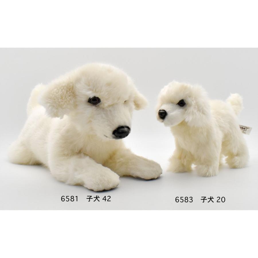 HANSA ハンサ 子いぬ 犬 6583 リアル 動物 ぬいぐるみ プレゼント ギフト 母の日 父の日|dearbear|09