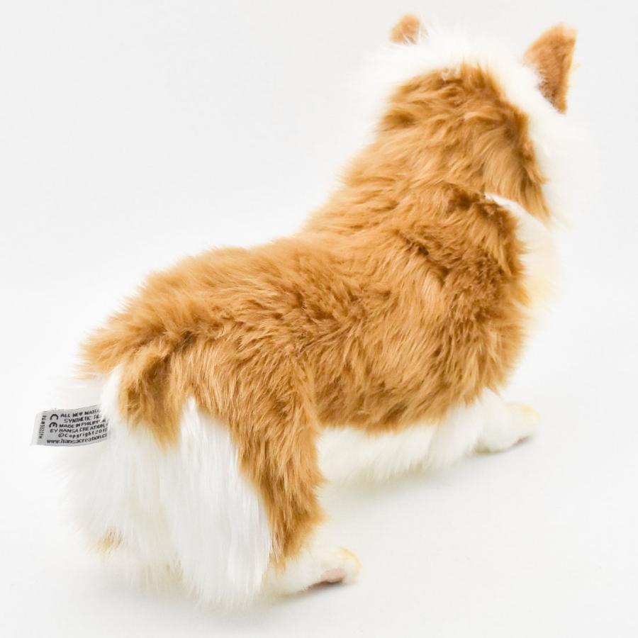 HANSA ハンサ ウェルシュコーギー 犬 6684 リアル 動物 ぬいぐるみ プレゼント ギフト 母の日 父の日 dearbear 03