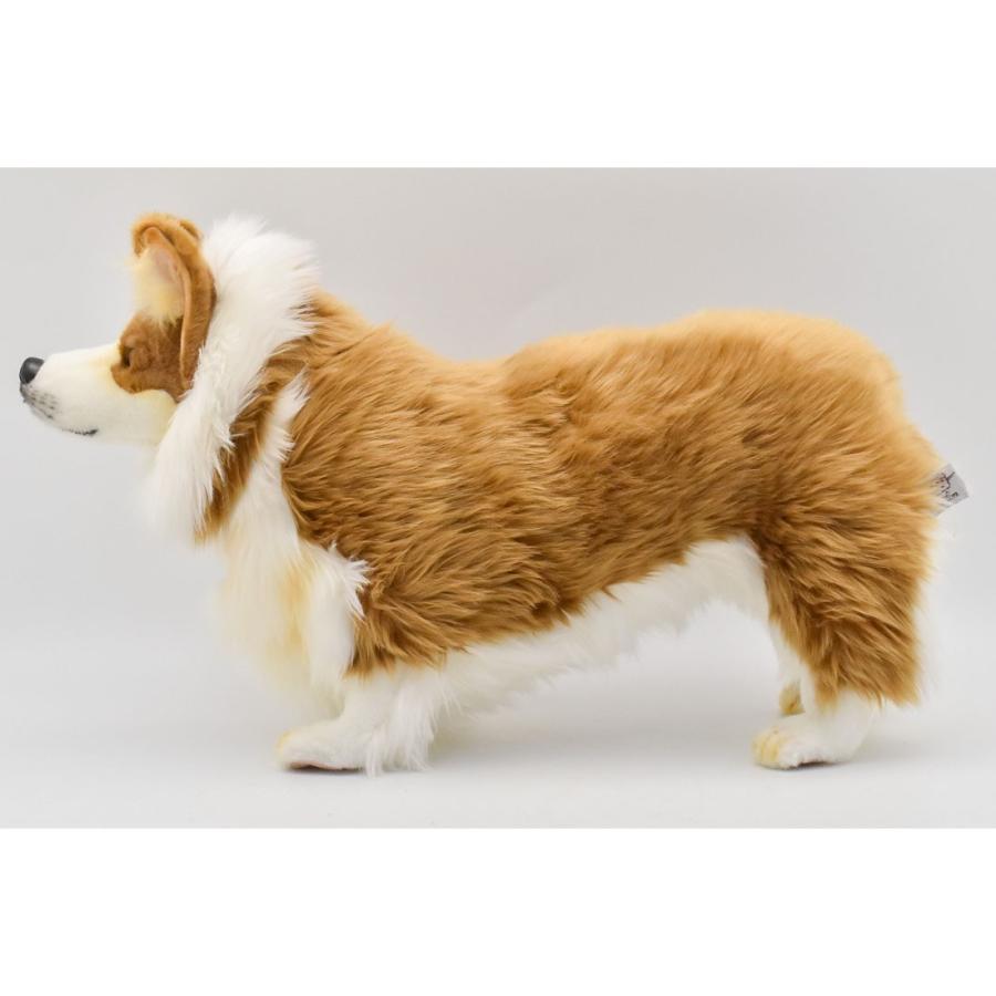 HANSA ハンサ ウェルシュコーギー 犬 6686 ギフト対象外 リアル 動物 ぬいぐるみ プレゼント ギフト 母の日 父の日|dearbear|02