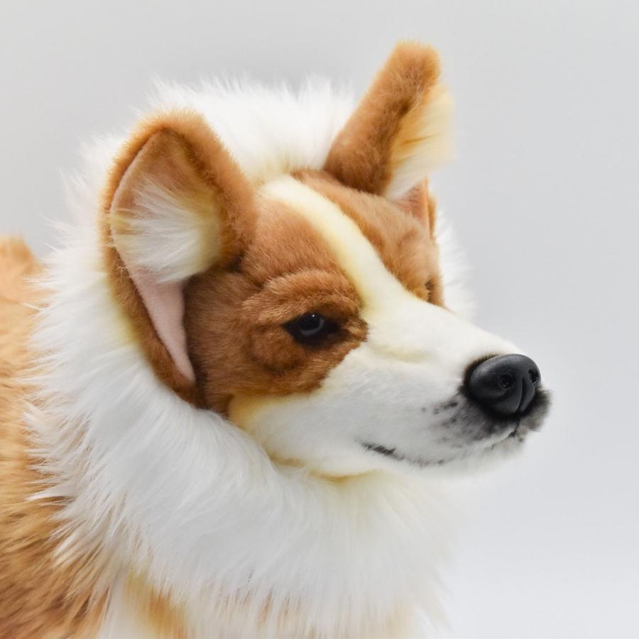 HANSA ハンサ ウェルシュコーギー 犬 6686 ギフト対象外 リアル 動物 ぬいぐるみ プレゼント ギフト 母の日 父の日|dearbear|04