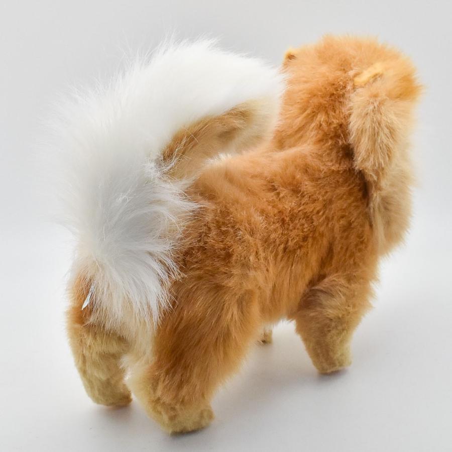HANSA ハンサ ポメラニアン 犬 7018 ギフト対象外 リアル 動物 ぬいぐるみ プレゼント ギフト 母の日 父の日|dearbear|03