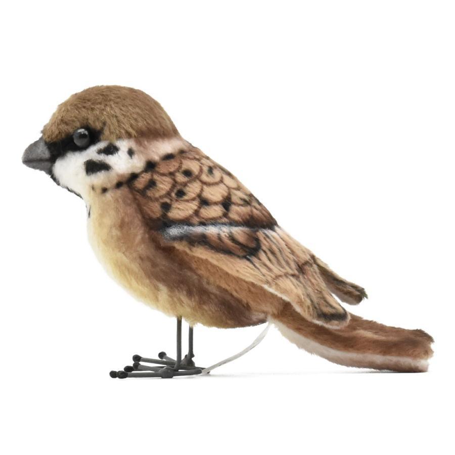 HANSA ハンサ スズメ 鳥 7019 リアル 動物 ぬいぐるみ プレゼント ギフト 母の日 父の日 dearbear 02