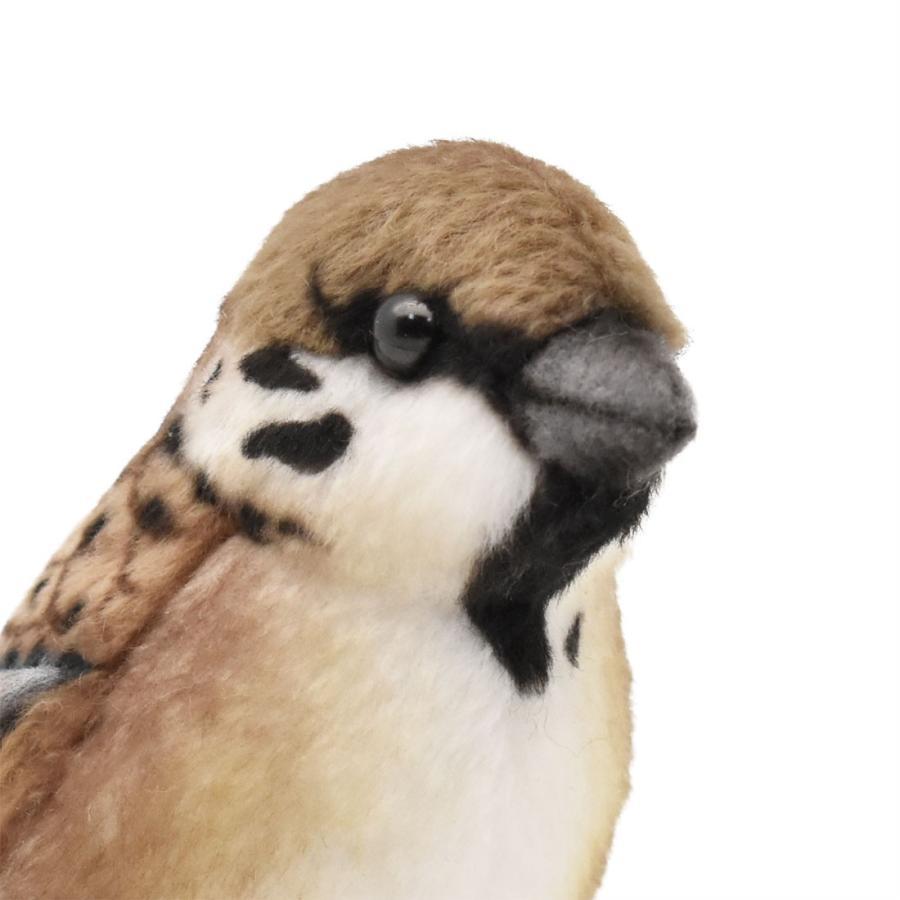 HANSA ハンサ スズメ 鳥 7019 リアル 動物 ぬいぐるみ プレゼント ギフト 母の日 父の日 dearbear 04
