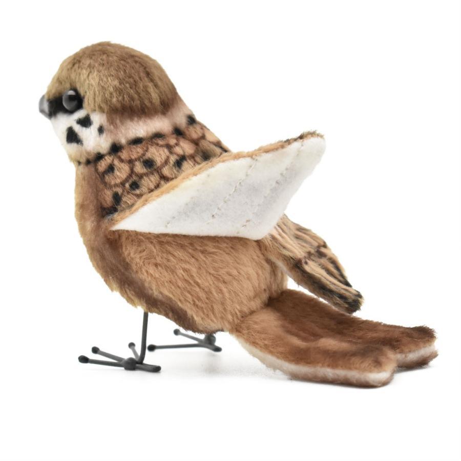 HANSA ハンサ スズメ 鳥 7019 リアル 動物 ぬいぐるみ プレゼント ギフト 母の日 父の日 dearbear 08