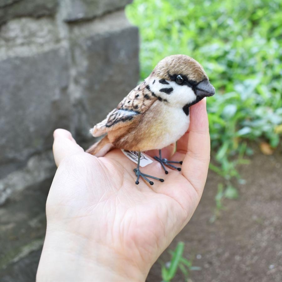 HANSA ハンサ スズメ 鳥 7019 リアル 動物 ぬいぐるみ プレゼント ギフト 母の日 父の日 dearbear 09