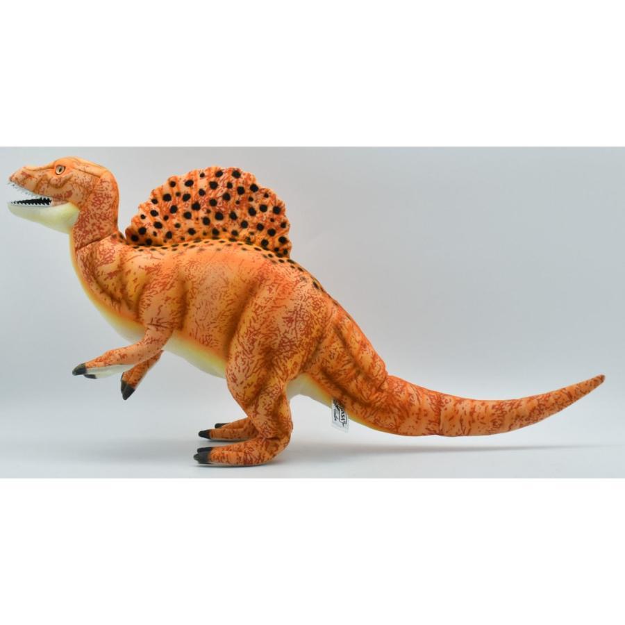 HANSA ハンサ スピノサウルス オレンジ 恐竜 7782 ギフト対象外 リアル 動物 ぬいぐるみ プレゼント ギフト 母の日 父の日 dearbear 02