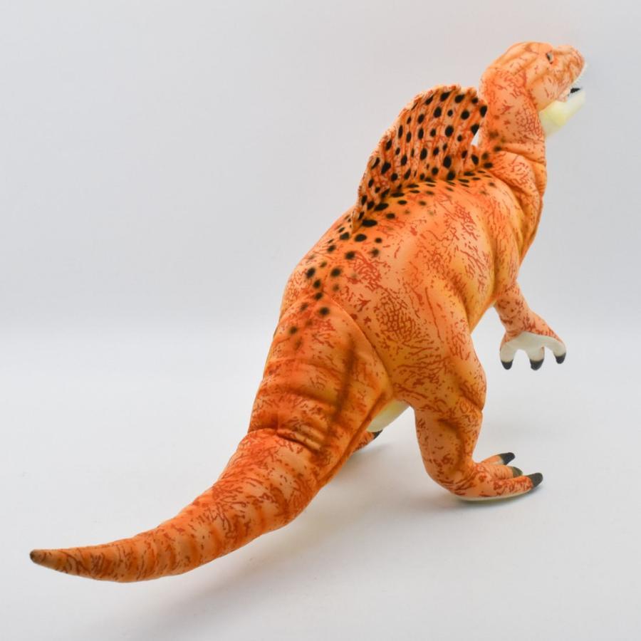 HANSA ハンサ スピノサウルス オレンジ 恐竜 7782 ギフト対象外 リアル 動物 ぬいぐるみ プレゼント ギフト 母の日 父の日 dearbear 03