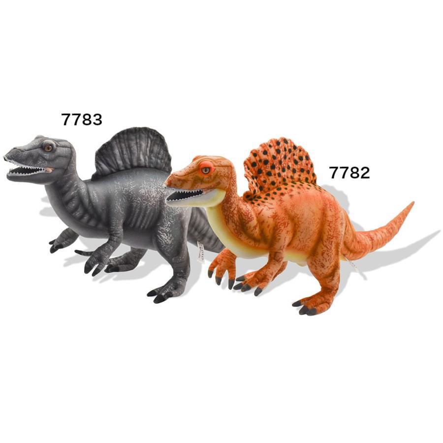 HANSA ハンサ スピノサウルス オレンジ 恐竜 7782 ギフト対象外 リアル 動物 ぬいぐるみ プレゼント ギフト 母の日 父の日 dearbear 10