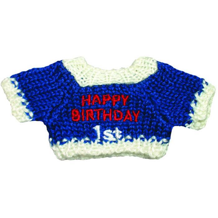 バースデーセーター 誕生日 雑貨 キーチェーン 記念日 お祝い プレゼント ギフト dearbear