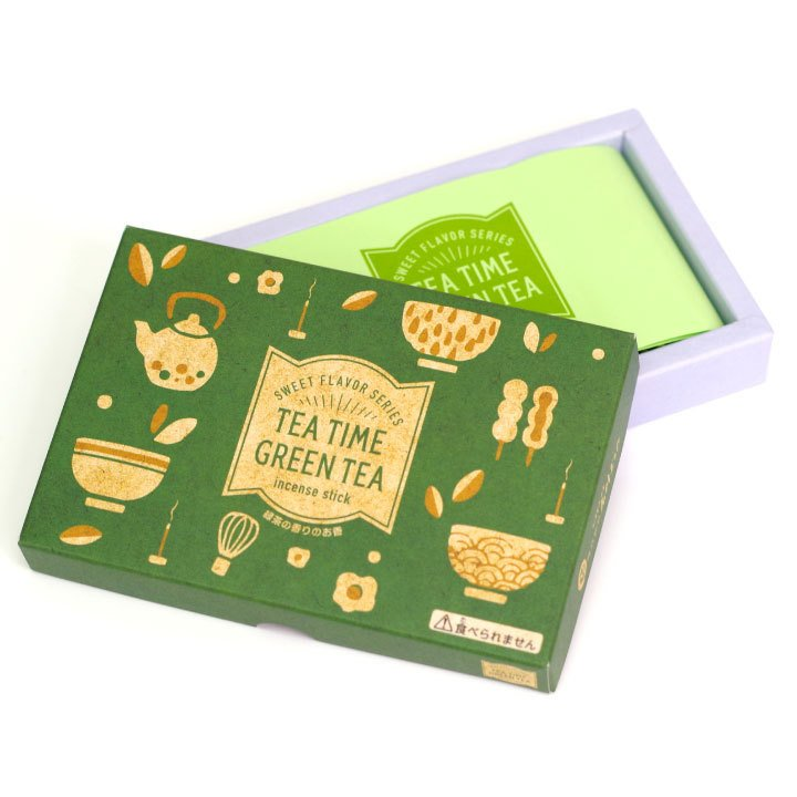 ペット 線香 3種 セット ミニ寸 コーヒー 緑茶 チョコレート 煙が少ない 約12分燃焼 短時間 カフェ ティータイム ネコポス送料無料|dearpet|13