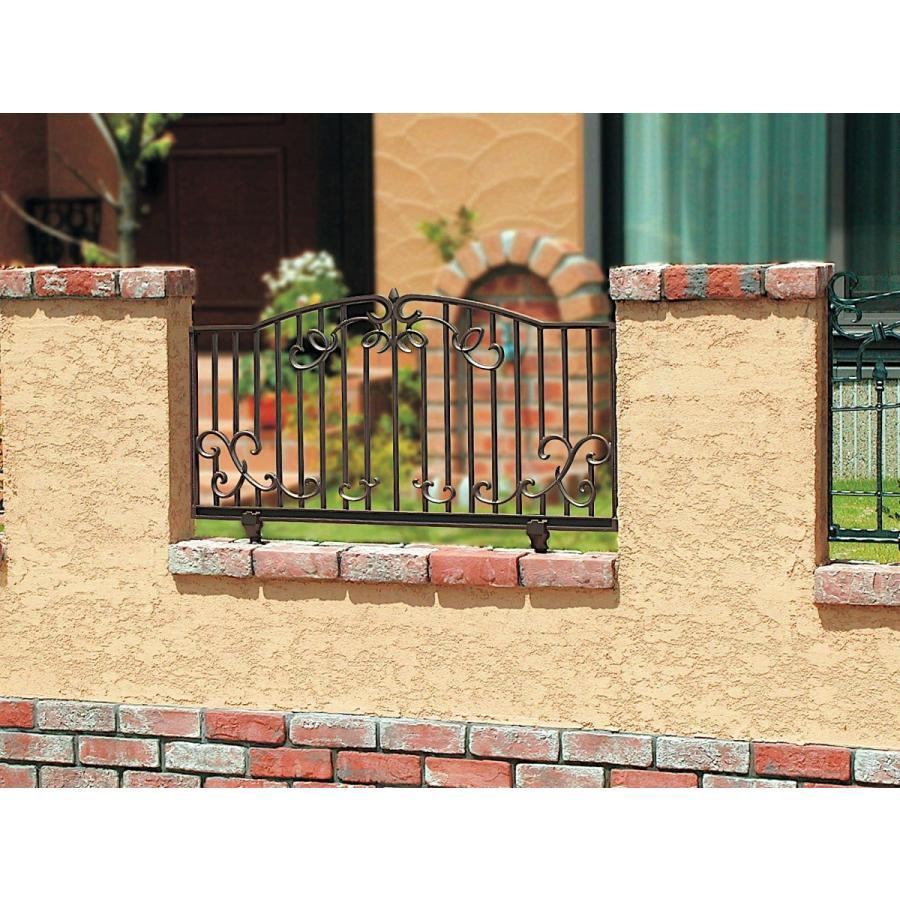 ガーデンフェンス TypeA ロイヤルブラック/ロイヤルブラウン
