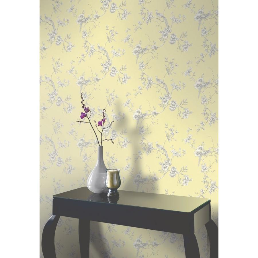 輸入壁紙 Options2 Chinoise 422804 シノワズリ 花鳥柄 住宅設備