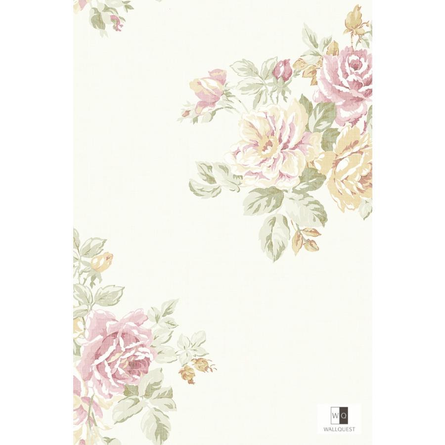 壁紙 Flora 花柄 ホワイト Fg 輸入品 Fg インテリアショップ デコール 通販 Yahoo ショッピング