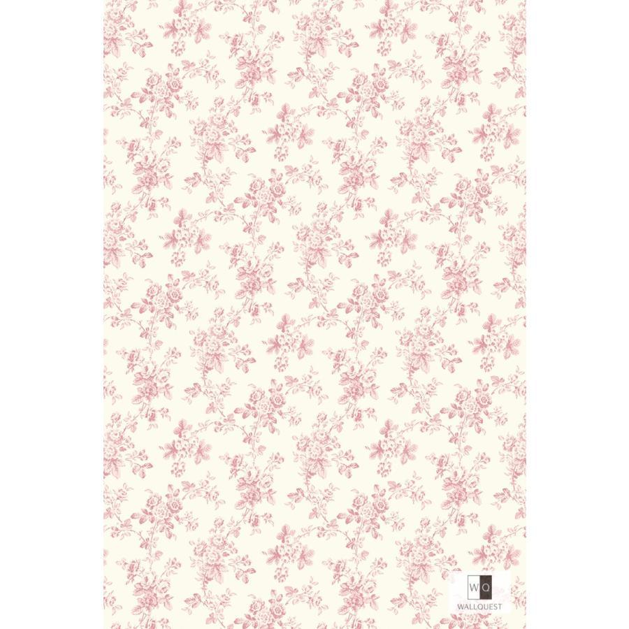 壁紙 Flora 花柄 ピンク Fg 輸入品 Fg インテリアショップ デコール 通販 Yahoo ショッピング