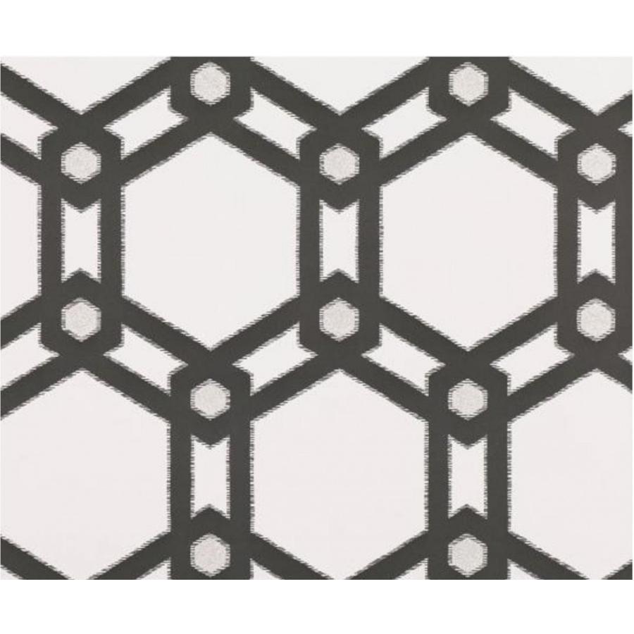 輸入壁紙 Villa Villa ブラック Nova Claremont Wallpaper Onyx