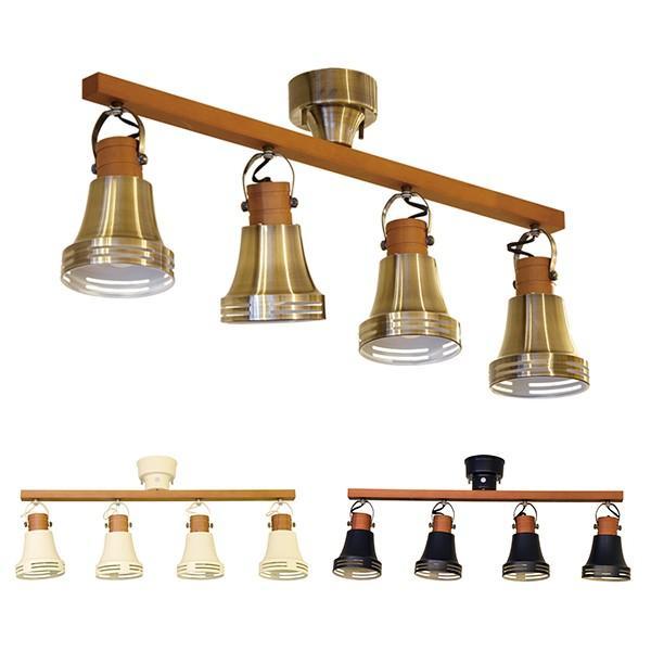 照明 シーリングライト スポットライト 4灯 北欧 Wood bell ウッドベル リモコン付 Lu Cerca ルチェルカ|decomode|03