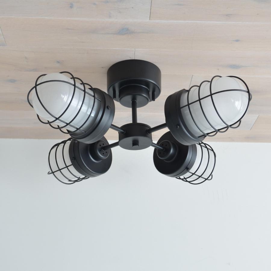 照明 PROTO プロト 4灯シーリングライト decomode 05