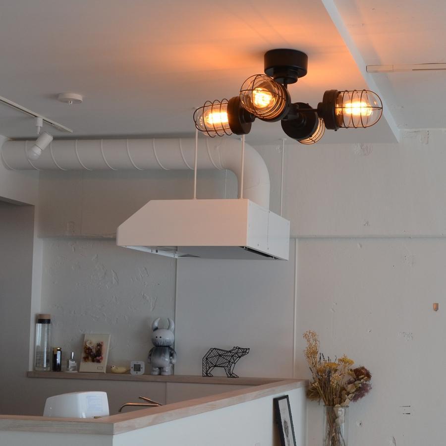 照明 PROTO プロト 4灯シーリングライト decomode 06