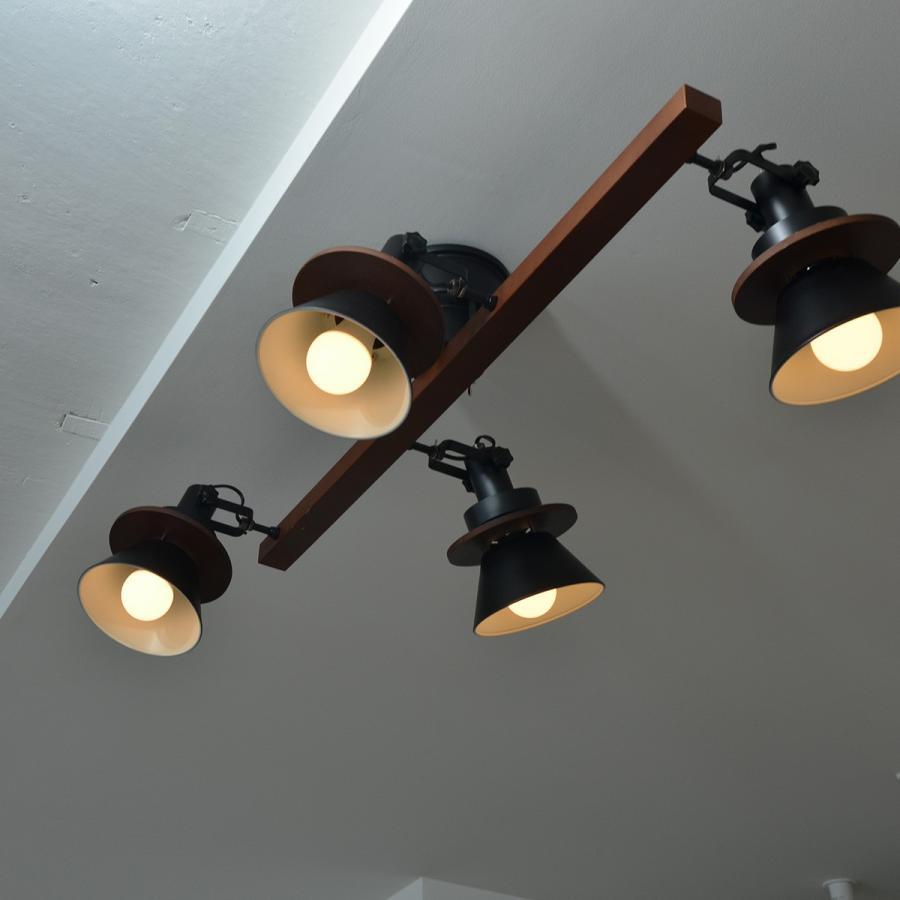 照明 CERON セロン 4灯シーリングスポット decomode 05