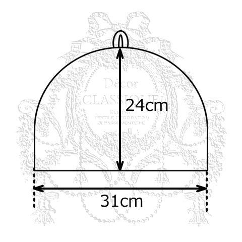 ポットマット付きティーコゼー・ティーコージー・ティーポットカバー:ローズモメント ピーチベージュ Decor CLASSIQUE|decor-classique|11