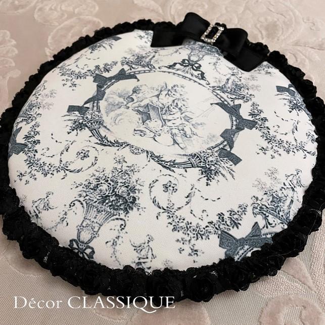ポットマット・ラウンドマット・カップ&ソーサーマット::エンジェルトワル Decor CLASSIQUE decor-classique