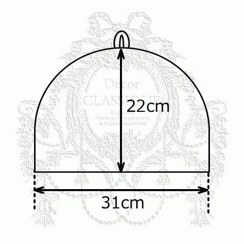 ティーコゼー・ティーコージー・ティーポットカバー:エンジェルトワル チャコールグレー 撥水加工 リボン付き Decor CLASSIQUE|decor-classique|11