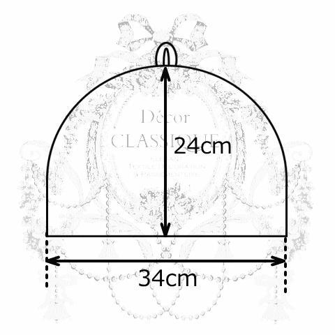 ティーコゼー・ティーコージー・ティーポットカバー:エレガントローズシリーズ:エクリュローズ モアレリボン付き:Decor CLASSIQUE decor-classique 08