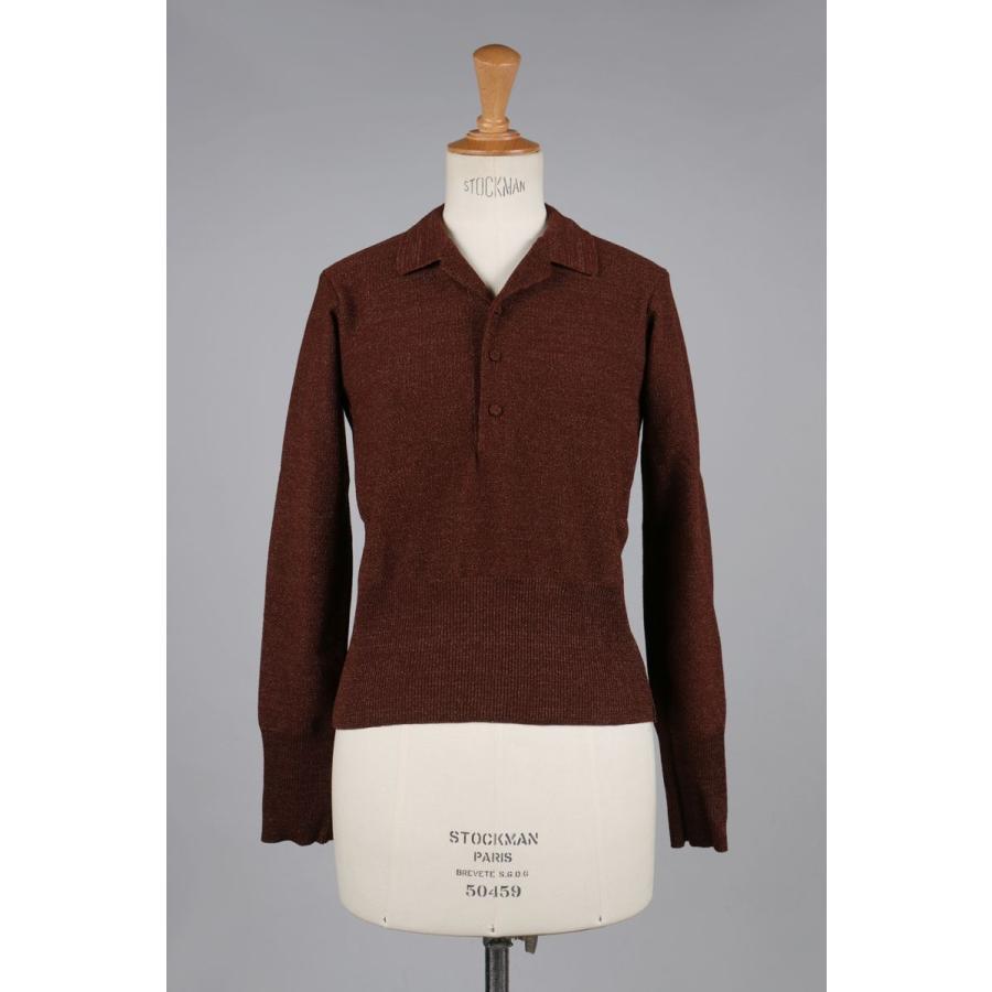 【感謝価格】 Pullover Yarns Jun Knit with Metallic Yarns -Brown -Brown Jun Mikami(ジュン・ミカミ), デジカメ撮影用ライトのプロ機材:512484ce --- theroofdoctorisin.com