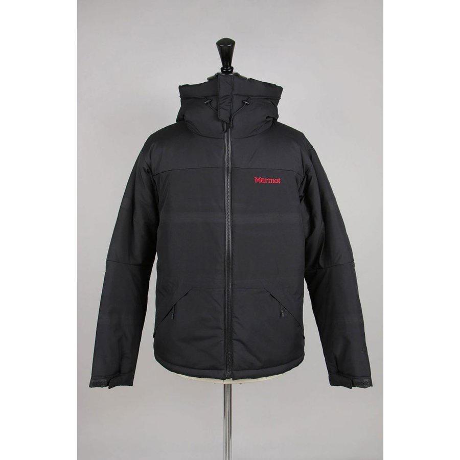 Warm Parbat Jacket - BLACK (TOMOJL19) Marmot(マーモット)