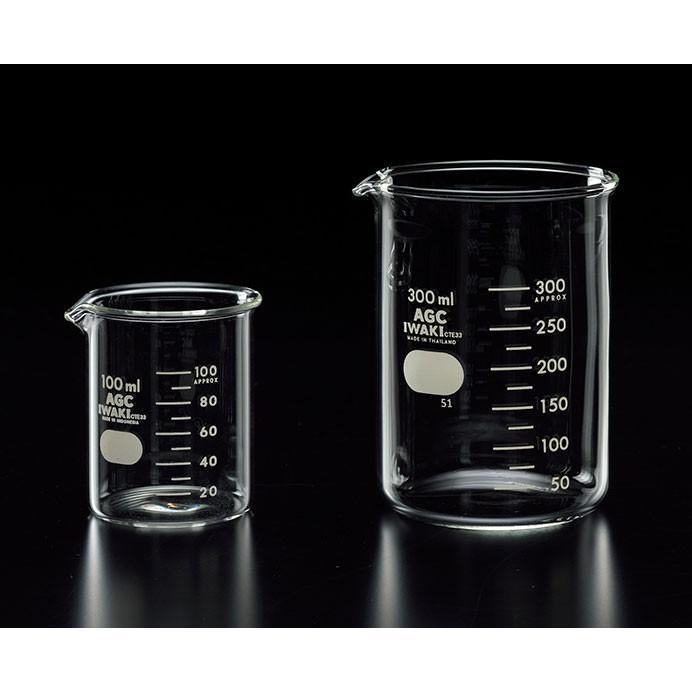 ビーカー 硬質ガラス製 IWAKI製 DJ-0004 5000ml