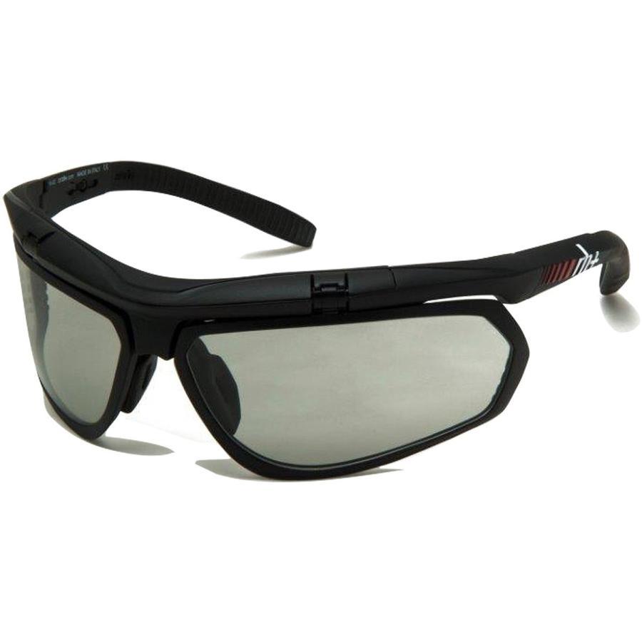 rh+(アールエイチプラス) サングラス オリンポ エアーエックス [OLYMPO Air-X] マットブラック/ブラック レンズ:調光グレー 37g RH863 26