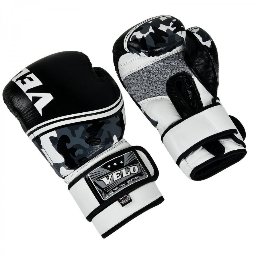 GLV-39 グローブ ボクシング キックボクシング 黒 迷彩 VELO正規品 各オンス