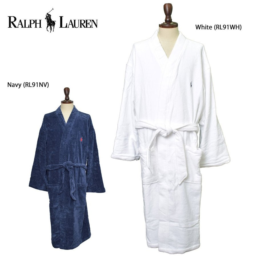 Polo Ralph Lauren Sleepwear Ýロ éルフローレン Rl91wh Rl91nv Solid Velour Kimono Robe áンズ ëームウェア Ðスローブ Ƀ¨å±‹ç€ Ýニー Rl M Uw Q1 H0347 Çリシャス Usa直輸入 »レクト ɀšè²© Yahoo ·ョッピング