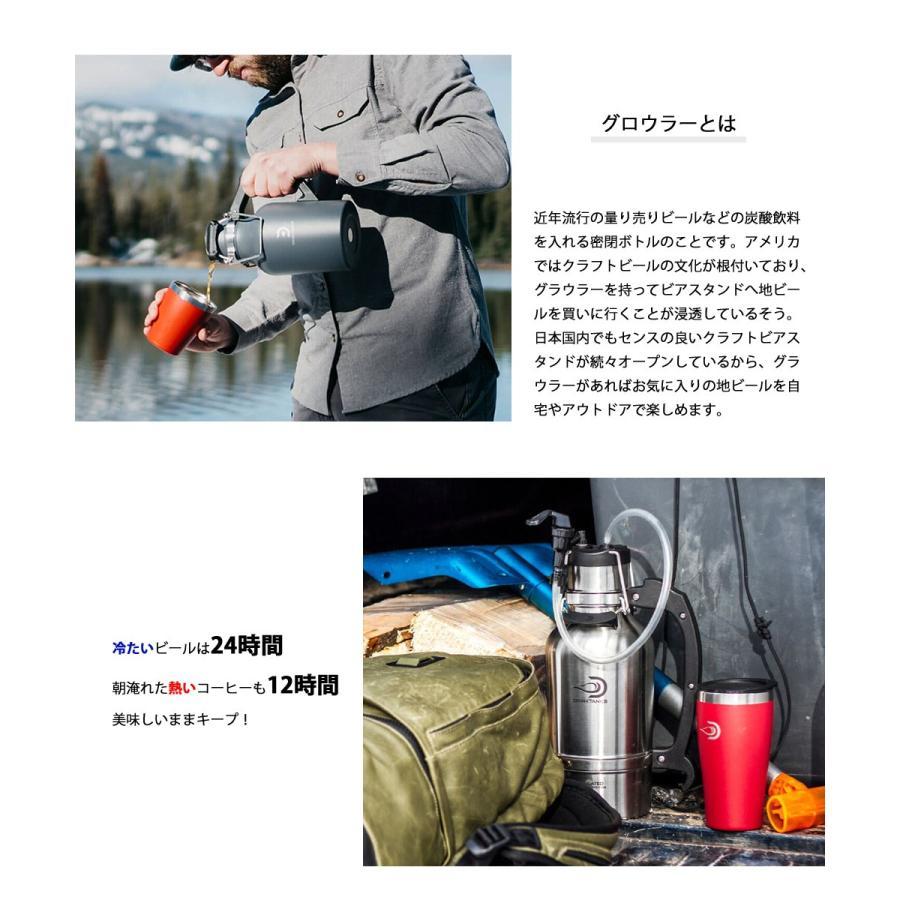 DRINK TANKS ドリンク タンクス Growler 32oz 0.94L メンズ レディース 真空断熱グラウラー 真空グロウラー 保冷 保温 水筒 タンブラー 保温保冷 ビール Beer deliciousy2 03