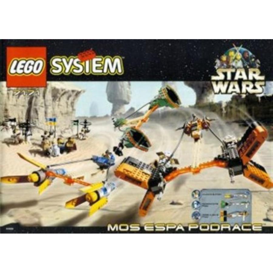 おもちゃ ゲーム 積み木 レゴ ブロック LEGO Star Wars Mos Espa pod race 7171 (japan import)ミニフィギュア