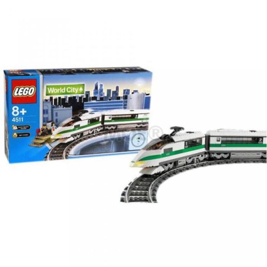 おもちゃ ゲーム 積み木 レゴ ブロック LEGO 4511 WORLD CITY TRAINミニフィギュア