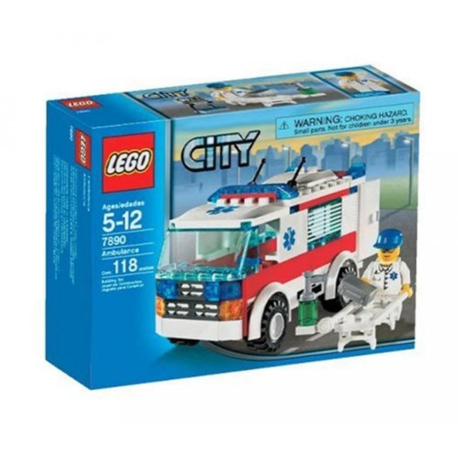 おもちゃ ゲーム 積み木 レゴ ブロック LEGO City Emergency Ambulance (7890)ミニフィギュア