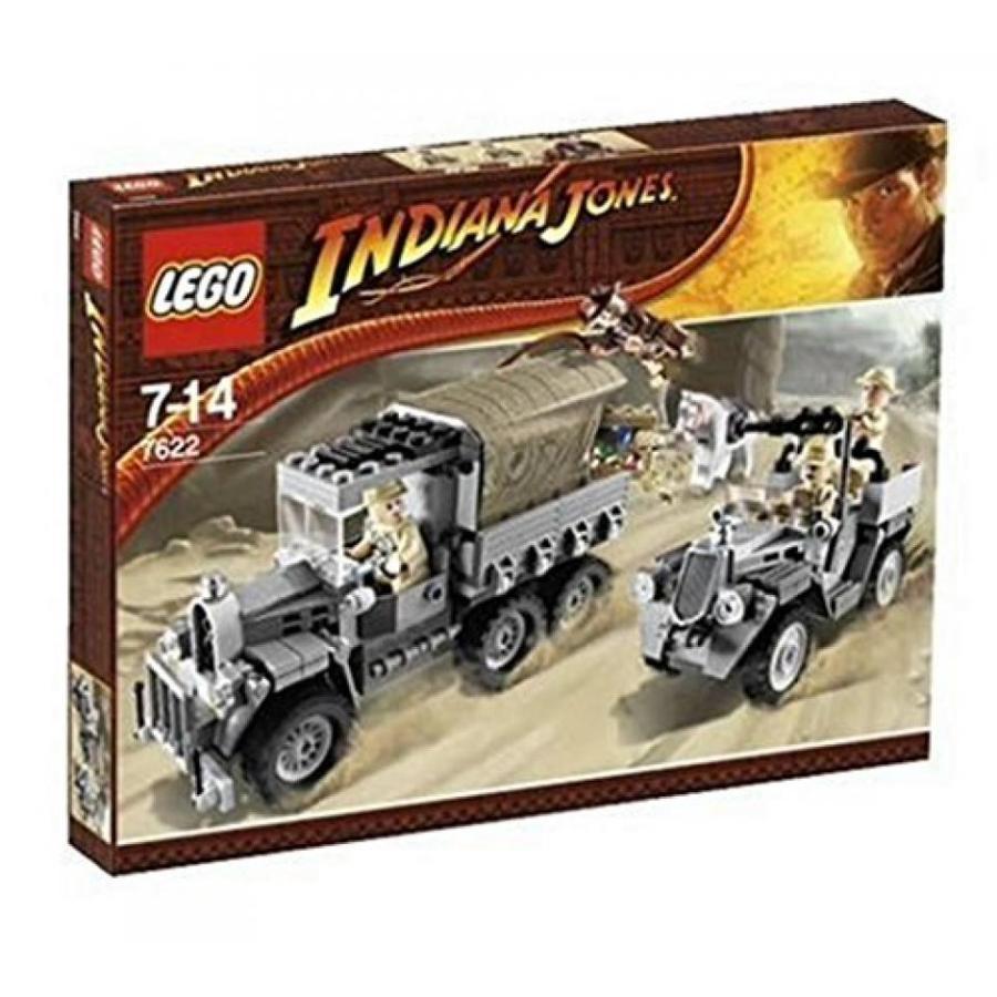おもちゃ ゲーム 積み木 レゴ ブロック Lego #7622 Indiana Jones Race for the Stolen Treasureミニフィギュア