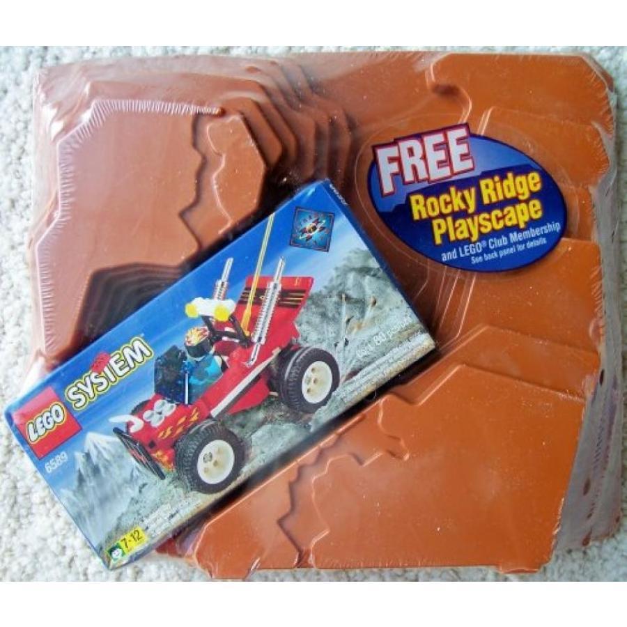 おもちゃ ゲーム 積み木 レゴ ブロック LEGO Extreme Team 6589 Radical Racer with Rocky Ridge Playscapeミニフィギュア