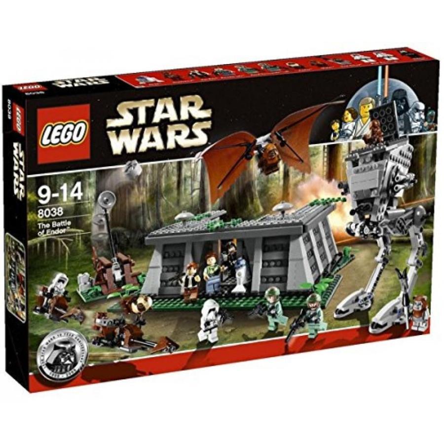 おもちゃ ゲーム 積み木 レゴ ブロック LEGO Star Wars The Battle of Endor (8038) (Discontinued by manufacturer)ミニフィギュア