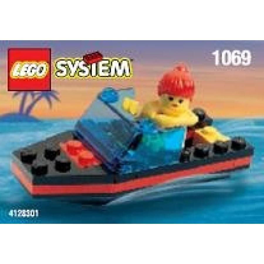 おもちゃ ゲーム 積み木 レゴ ブロック Lego Classic Town Res Q Speed Boat 1069ミニフィギュア