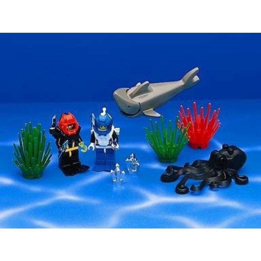 おもちゃ ゲーム 積み木 レゴ ブロック LEGO Aquazone 6104 Aquacessoriesミニフィギュア