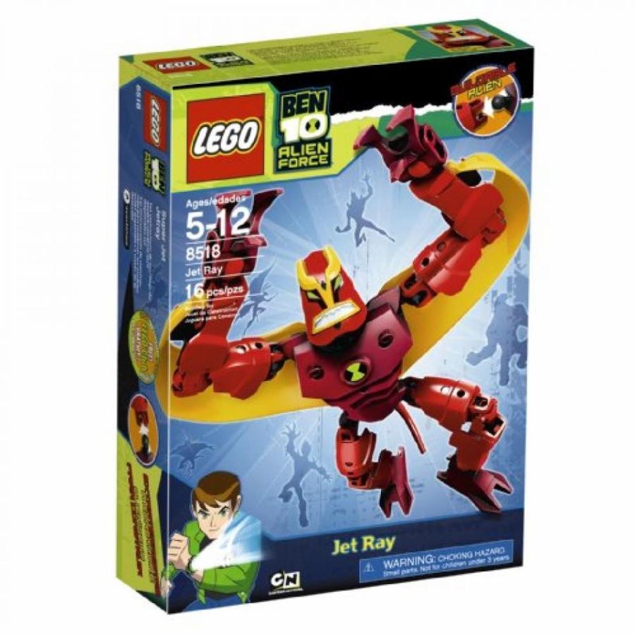おもちゃ ゲーム 積み木 レゴ ブロック LEGO Ben 10 Alien Force Jet Ray (8518)ミニフィギュア