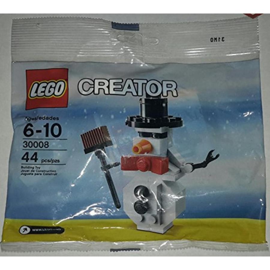 おもちゃ ゲーム 積み木 レゴ ブロック LEGO Creator 30008 Snowman Polybagミニフィギュア