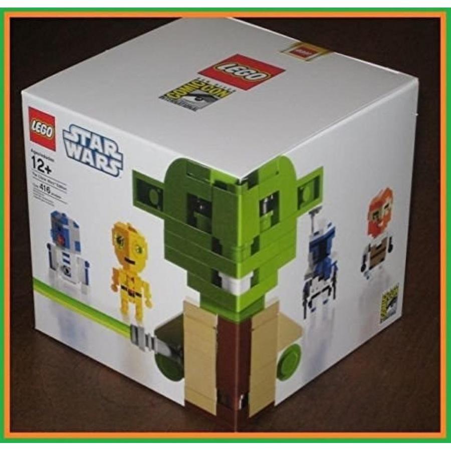 おもちゃ ゲーム 積み木 レゴ ブロック Lego Star Wars Comic Con Exclusive 2010 Cube Dude Limited Edition of 2000 - 416 Piecesミニフィギュア