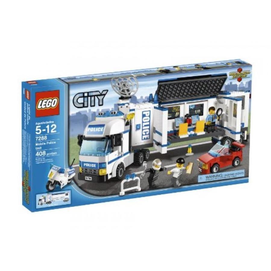 おもちゃ ゲーム 積み木 レゴ ブロック LEGO Mobile Police Unit 7288ミニフィギュア